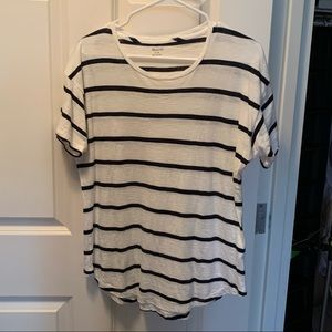Madewell Whisper Cotton Tee - Striped